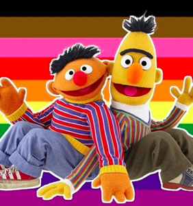 Our friends on 'Sesame Street' have a message to the world: Happy pride