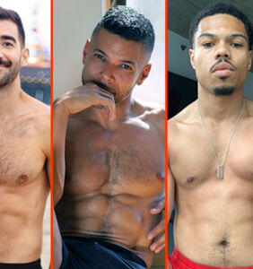 Ricky Martin's shadow, Kelechi's crop top, & Billy Porter's fruity drink