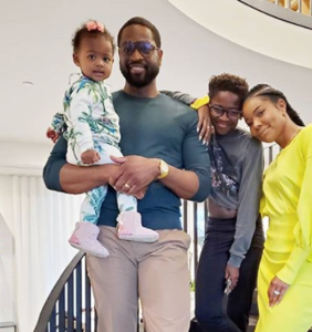 That time NBA star Dwayne Wade served 'dad goals' after homophobic haters came for his 12-year-old