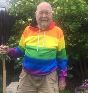 At age 90, Kenneth Felts proved it's never too late to come out and be a hero
