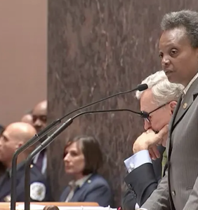 "That time Lori Lightfoot stared down a roomful of homophobes and said ""I will be silent no more"""