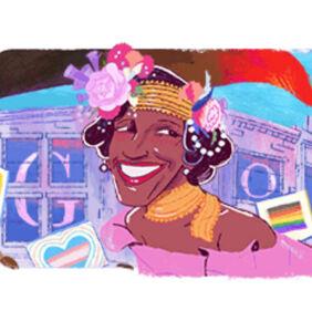 Marsha P. Johnson's life celebrated with Google Doodle and $500k donation