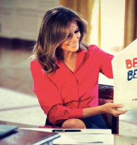 Melania taps former WH gift wrapper to help launch #BeBest office at Mar-a-Lago