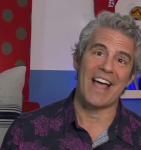 Andy Cohen promotes the latest hero of the COVID crisis: glory holes