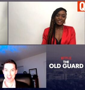 WATCH: Action heroines Charlize Theron & Kiki Layne on gay warriors in 'The Old Guard'