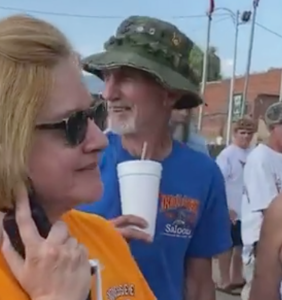 WATCH: This homophobic 4th of July Karen is definitely not making America great