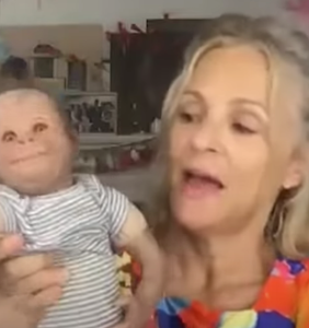 WATCH: Amy Sedaris introduces America to her terrifying doll, Huckleberry