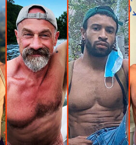 Chris Meloni's beard, John Legend's shower, & Terry Miller's new jock