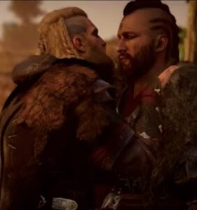 Everyone's talking about the steamy sex scene between two vikings in 'Assassin's Creed: Valhalla'