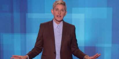 Watch this new talk show spoof featuring the 'male version of Ellen'