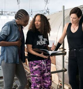 WATCH: Director Gina Prince-Bythewood injects gay love into sci-fi action with 'The Old Guard'