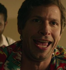 """Andy Samberg gives gay sex a whirl in """"Groundhog Day"""" inspired rom-com"""