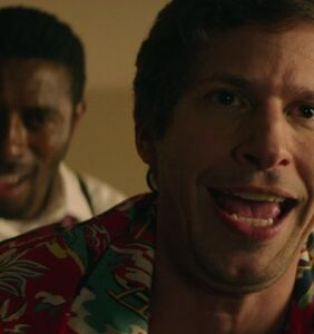 "Andy Samberg gives gay sex a whirl in ""Groundhog Day"" inspired rom-com"