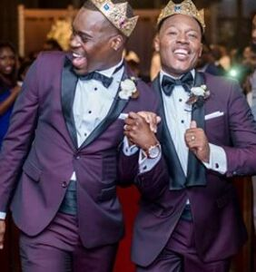 "These two guys found love in their college fraternity. 10 years later, they said ""I do!"""