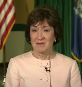 """Susan Collins purportedly """"very concerned"""" after receiving doomful news about her reelection"""