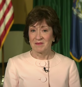 "Susan Collins purportedly ""very concerned"" after receiving doomful news about her reelection"