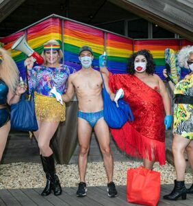 Meet the queer team of real-life superheroes protecting Fire Island from COVID-19