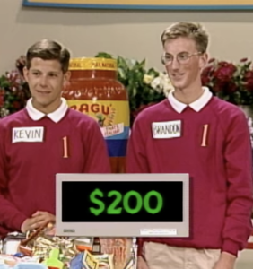 """Everyone's talking about what happened to Brandon and Kevin, the """"roommates"""" from 'Supermarket Sweep'"""