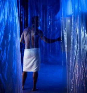 Gay hookup thriller 'Sequin in a Blue Room' is all about anon sex parties and mysterious men