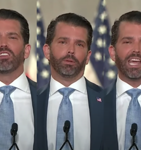 """Many people"" believe Don Jr. was coked out of his mind during last night's RNC speech"