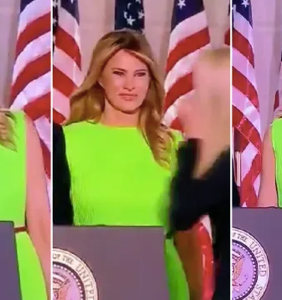 Everyone's talking about Melania's venomous glare at Ivanka during the final night of the RNC