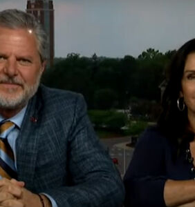 Jerry Falwell Jr.'s pool boy sex scandal has been immortalized forever in memes