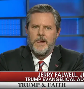 "Jerry Falwell Jr. comes clean about rumors of an ""improper relationship"" with the pool boy"