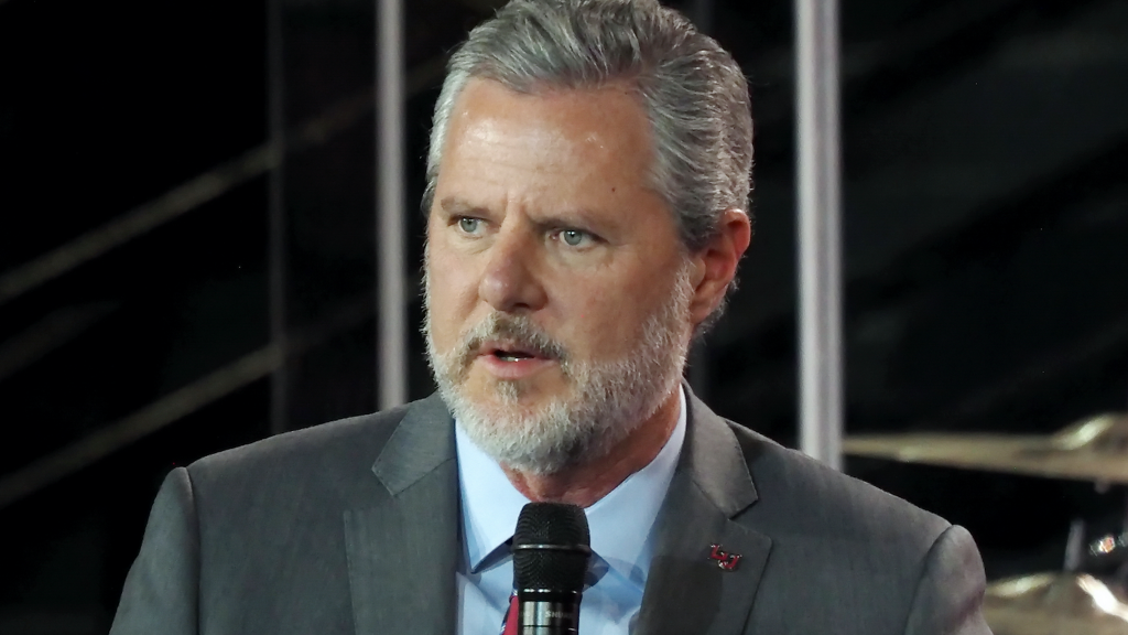 Jerry Falwell Jr. was just busted for even more alleged naughty behavior