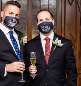 Same-sex couples share their pandemic-era weddings