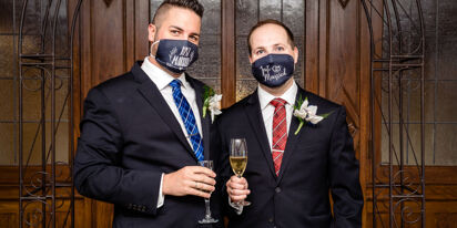 Same-sex couples share their pandemic-era weddings
