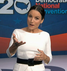 "Desperate Republicans pan Julia Louis-Dreyfus as ""tone-deaf"" at DNC"