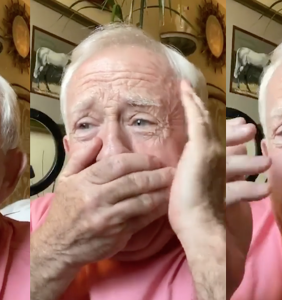 Leslie Jordan clutching his pearls to Cardi B's 'WAP' is a mood