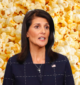 Everyone's laughing at Nikki Haley over her Twitter meltdown about delayed popcorn delivery