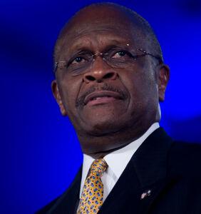 Um, Herman Cain died two weeks ago… so why is he bashing Kamala Harris on Twitter?