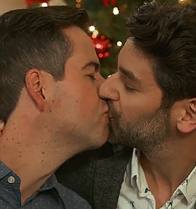 Lifetime is about to make Christmas super gay. We're here for it.