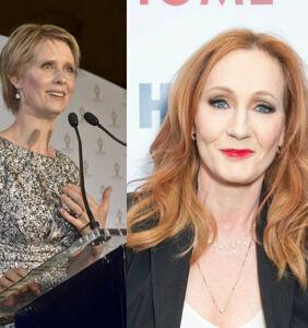 "Cynthia Nixon blasts JK Rowling over transphobia: ""It was really painful"""