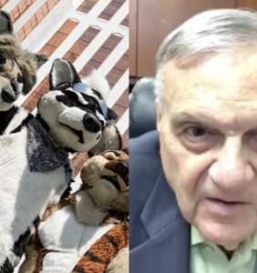 """Disgraced sheriff Joe Arpaio welcomes furry convention, says he's """"partial to dogs"""""""