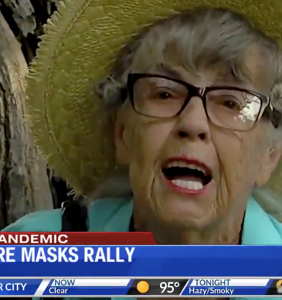 This local news segment about anti-maskers will make you question whether you're living in real life