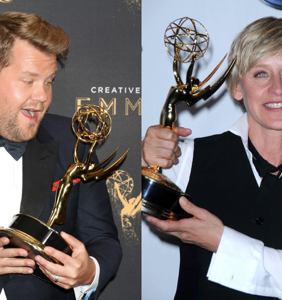 James Corden addresses reports that he's replacing Ellen as she goes MIA from set