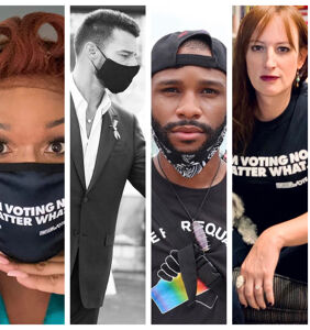 PHOTOS: Best of Queerty's Instagram: September (we're SO into voting right now)