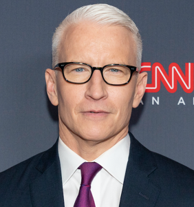 """Anderson Cooper will freak when he sees what's been done to his """"tiny sharp nips"""""""