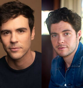 Meet the real life husbands set to star in Lifetime's new gay-themed Christmas movie