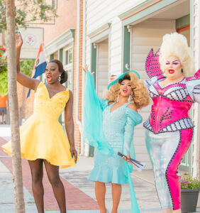 Glittering evidence Shangela, Bob the Drag Queen and Eureka O'Hara might just conquer the world