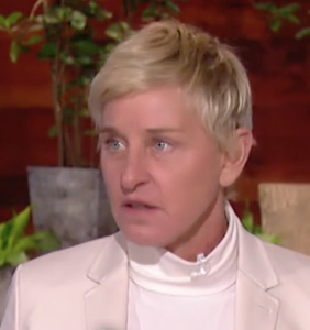 WATCH: Ellen addresses the elephant in the room in season 18 premiere