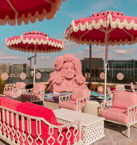 Dolly Parton-inspired rooftop bar opens at Nashville hotel