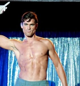 And now to brighten your day, here's Matt Bomer stripping