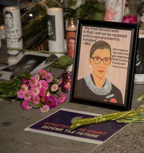 Trump wastes no time spreading lies about Ruth Bader Ginsburg