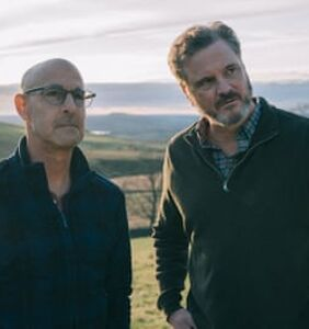 WATCH: Stanley Tucci & Colin Firth give off hot dad vibes in 'Supernova'