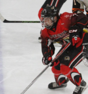 Elite teen hockey player comes out as gay, and the crowd goes wild
