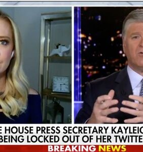 "Kayleigh McEnany whines about being ""permanently"" banned from Twitter for lying"
